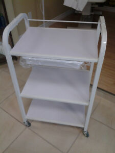 NEUF! Chariot, table de service/Rolling Trolley, service table