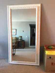 3 X 6 ' framed mirror