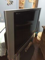 """55"""" Panasonic HD DLP TV with stand. Perfect condition. 150$ OBO."""
