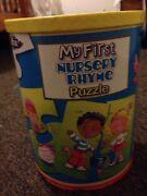 My First Nursery Rhyme Puzzle Jigsaw Fun Play Learn - Age 3+ Sydney Region Preview