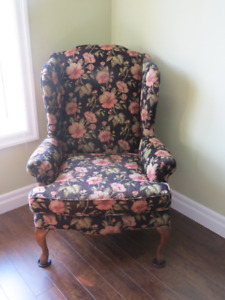 2 Matching Wing Chairs
