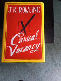 The Casual Vacancy Book by JK Rowling