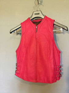 Icon Women's Bombshell Vest, pink, size medium