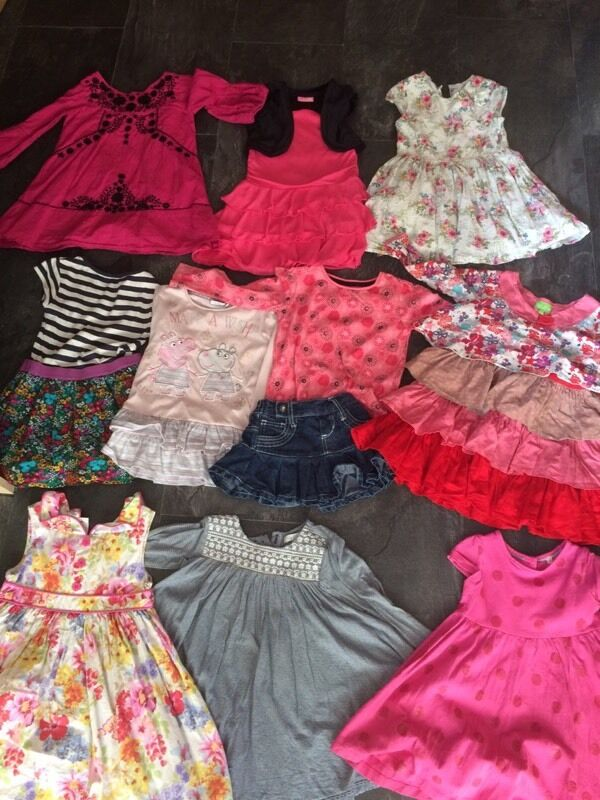 d56c3d8d1 x12 Bundle of Girls Clothes   Winter Coat Aged 2-4 Years Old - £15 ...