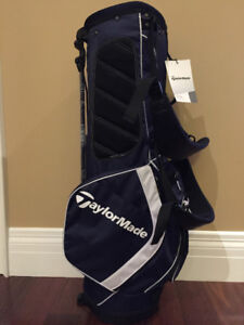 NEW! TaylorMade PRO STAND GOLF BAG 3.0 UNUSED NAVY/WHITE/BLACK