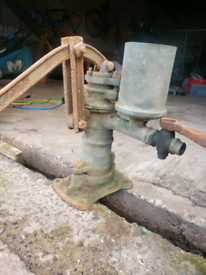Farmhouse kitchen pump
