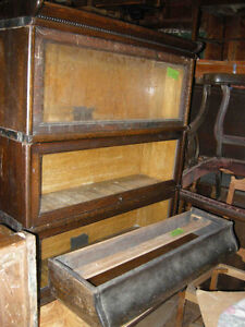 antique barrister bookcases or bookcase parts