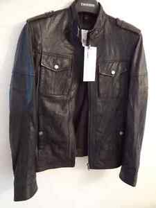 Genuine Leather Lambskin Jacket, Size S, brand new with tags Cambridge Kitchener Area image 6