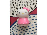 Hello kitty colour changing light
