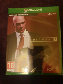 Xbox one Hitman 2 brand new sealed game