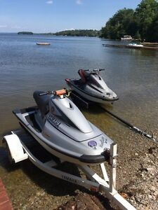2 Yamaha wave blasters! Stock and race mod