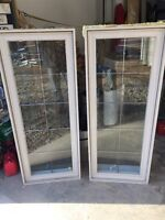 2 fenêtres hybrides Solarcan 24 x 60