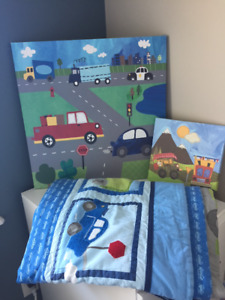 boys twin quilt bedding set