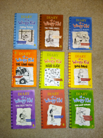 Books Diary of a Wimpy Kid.