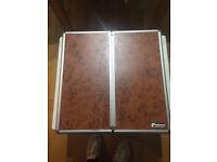 Unicorn Phil taylor dartboard and cabinet