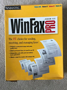 WINFAX FAXING SOFTWARE FROM YOUR P.C