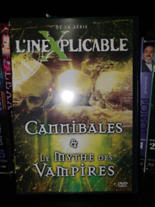 L'ineXplicable Cannibales & Mythe des Vampires DVD Documentaire