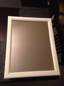 Wood Swing Door Medicine Cabinet - White