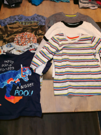 Boys clothes t shirt bundle age 3 - 4 years