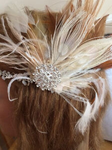 Bridal headpieces, Fascinators, hair clips, Feather headbands West Island Greater Montréal image 7