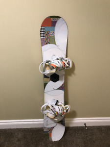 Women's Snowboard with boots and bindings