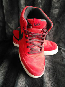 Size 11 Men's Red Nike Running Shoes $75 OBO