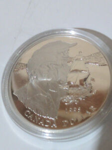 1995 The Hudson's Bay Silver Dollar Proof