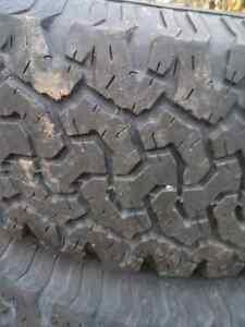 6 bolt rims w/ bf sidebiter tires  London Ontario image 2