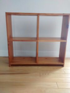 Pine Bookcase Set