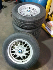 4 BMW Rims with Tire for sale