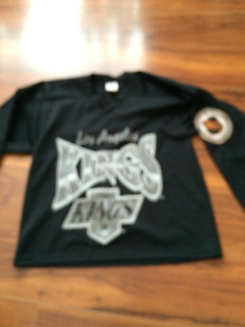 LOS ANGELES KINGS WESTERN CONFERENCE Size S CCM By Maska JERSEY