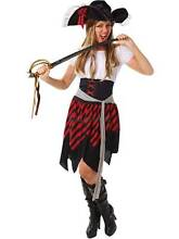 ADULT BUCCANEER Pirate Costume Size Small 8-10 BNWT Madora Bay Mandurah Area Preview