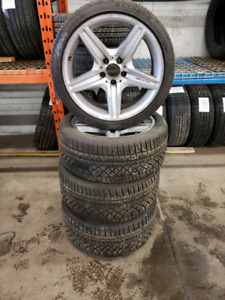 MERCEDES BENZ AMG WINTER TIRES AND ALLOY RIMS