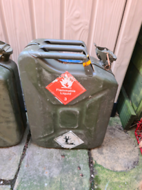 2 x Jerry Cans in Good Condition. Will sell separately.