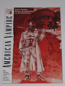 American Vampire#1 Snyder & King! Jim Lee variant! comic book