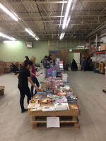 Volunteers Needed-First Book Canada Book Distribution