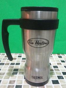 Tasse à Café de Voyage, métallique, THERMOS -  TIM HORTON
