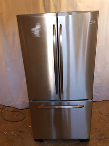Ge profile stainless French door fridge