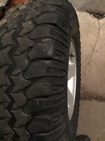 Jeep TJ Rubicon Rim and Tire $100