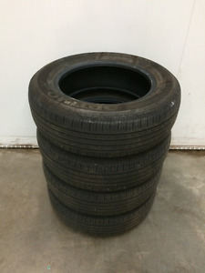 Four Used Summer Tires 195/65R15