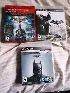 Batman Arkham Triology  (Ps3)