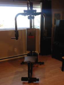 Home gym.   included delivery/setup in HRM.