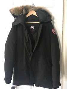 Canada Goose Chateau Parka Men Medium Black