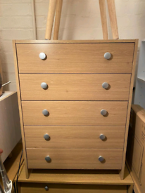 5 Drawers chest only £50. Real Bargains Clearance Outlet Leicester Cit