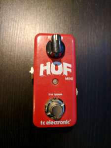 TC Electronic HOF Hall of Fame Reverb Pedal