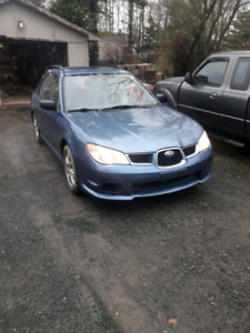 2007 Subaru Impreza wagon + parts car