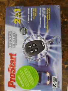 PROstart auto remote starter.