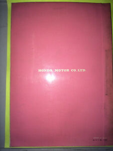 1967 Honda 90 C201 Parts Book Regina Regina Area image 3