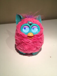 Pink Furby with Manual and New Batteries