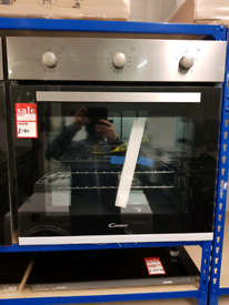 Brand New CANDY FCP403X/E Electric Oven - Stainless Steel